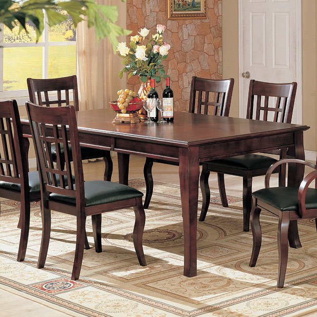 Dazzelton Dining Room Table: Newhouse Rectangular Dining Table Coaster Furniture