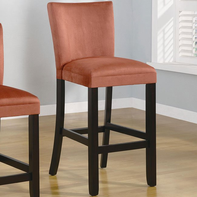 Bloomfield 29 Inch Barstool Terracotta Set Of 2 Coaster