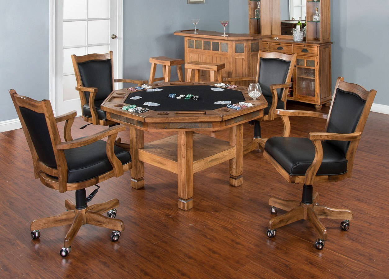 Sedona Storage Game and Dining Table Set