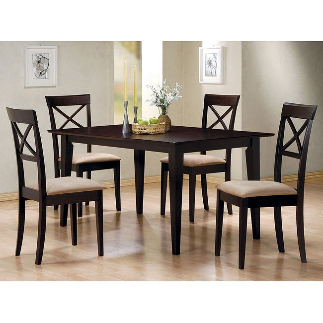 Mix Match Kitchen Chairs: Mix And Match Dining Room Set With Cross Back Chairs