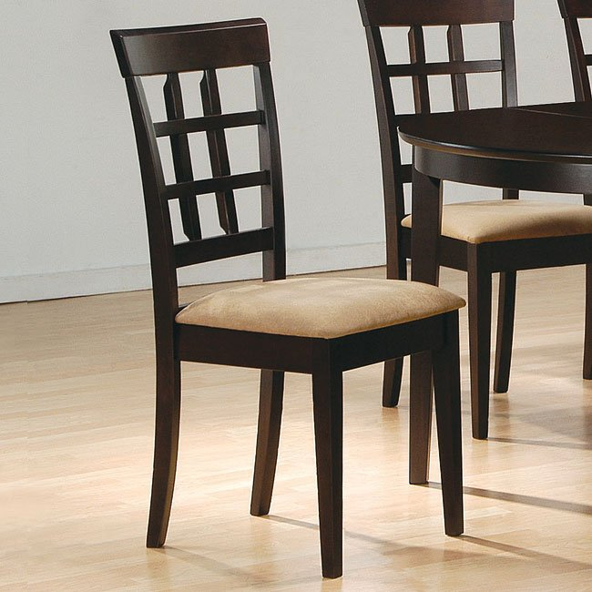 Mix And Match Dining Room Set With Wheat Back Chairs ...