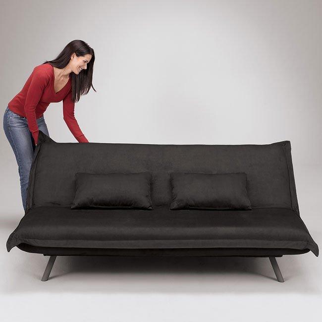 Nirvana Black Flip Flop Sofa