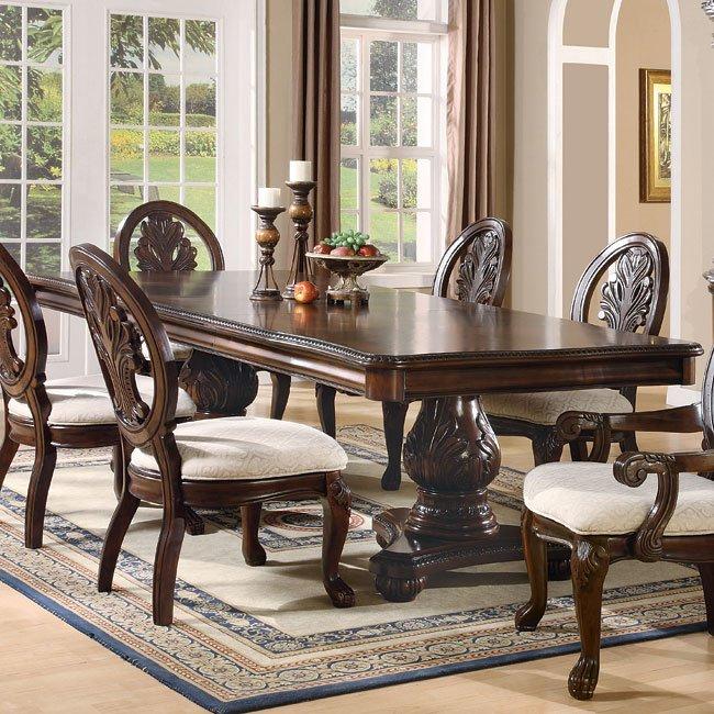 Tabitha Pedestal Dining Room Table