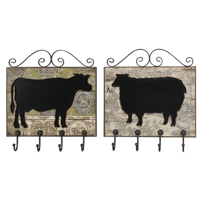 Farm Animal Plaques (Set of 2)