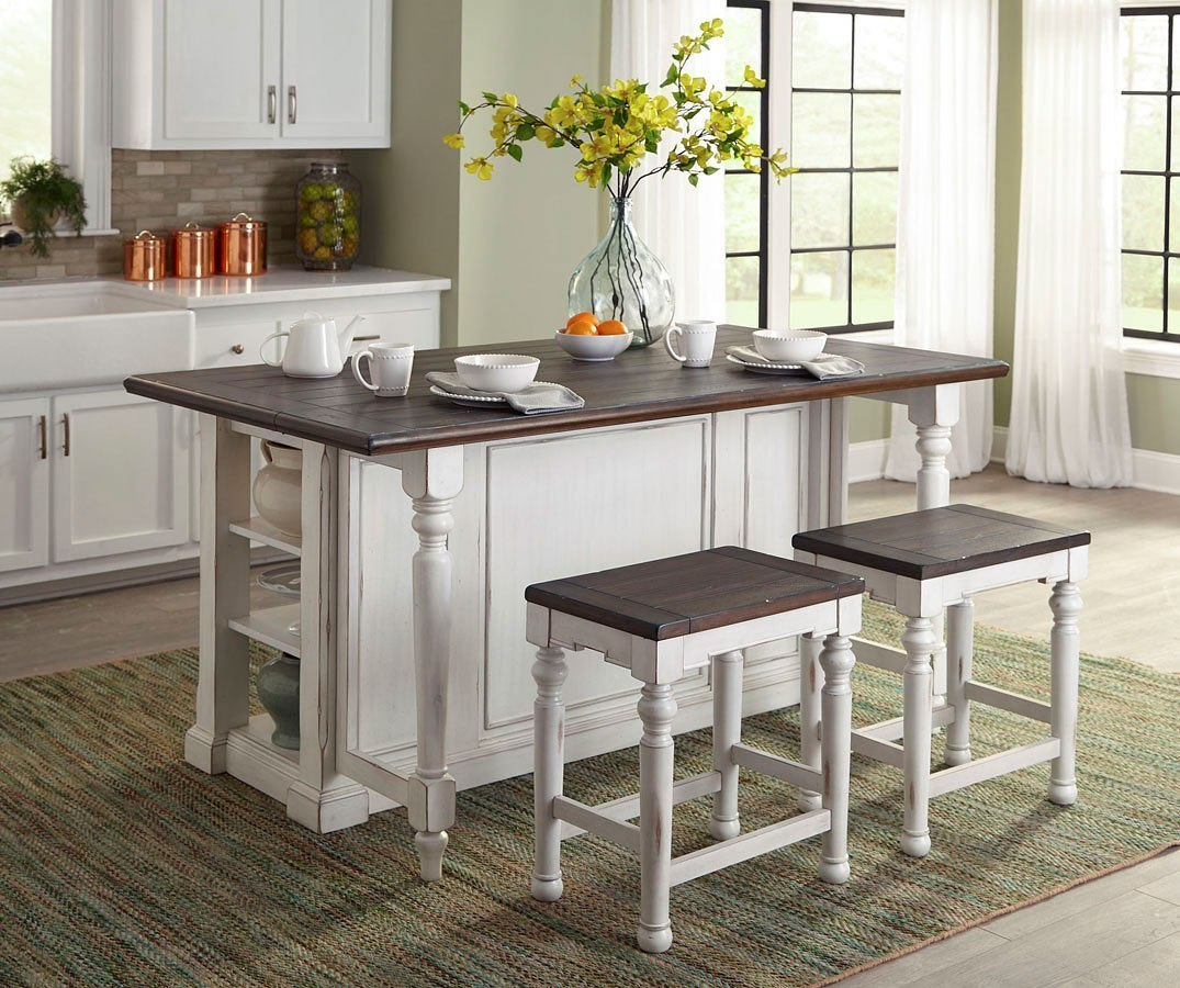 kitchen island dining set bourbon county kitchen island set french country sunny designs furniture cart 6281