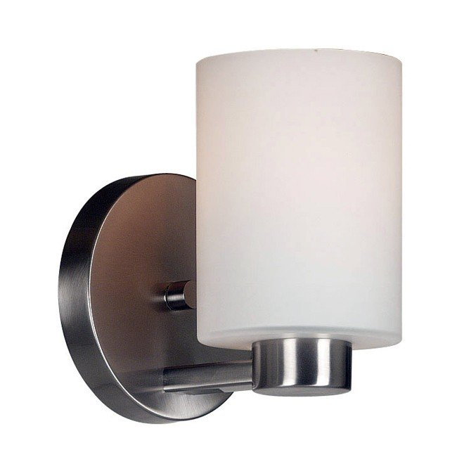 Encounters 1 Light Sconce (Brushed Steel)