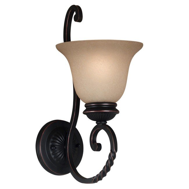 Oliver 1 Light Sconce (Oil Rubbed Bronze)