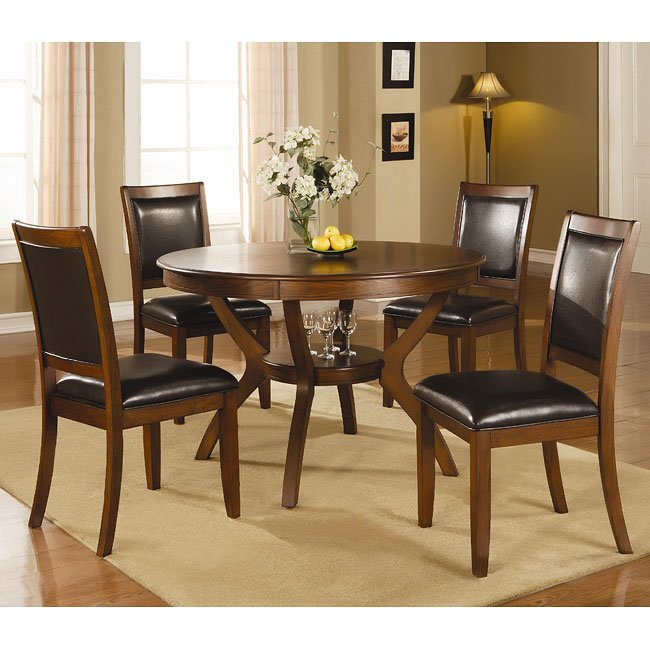 Nelms Round Dining Room Set