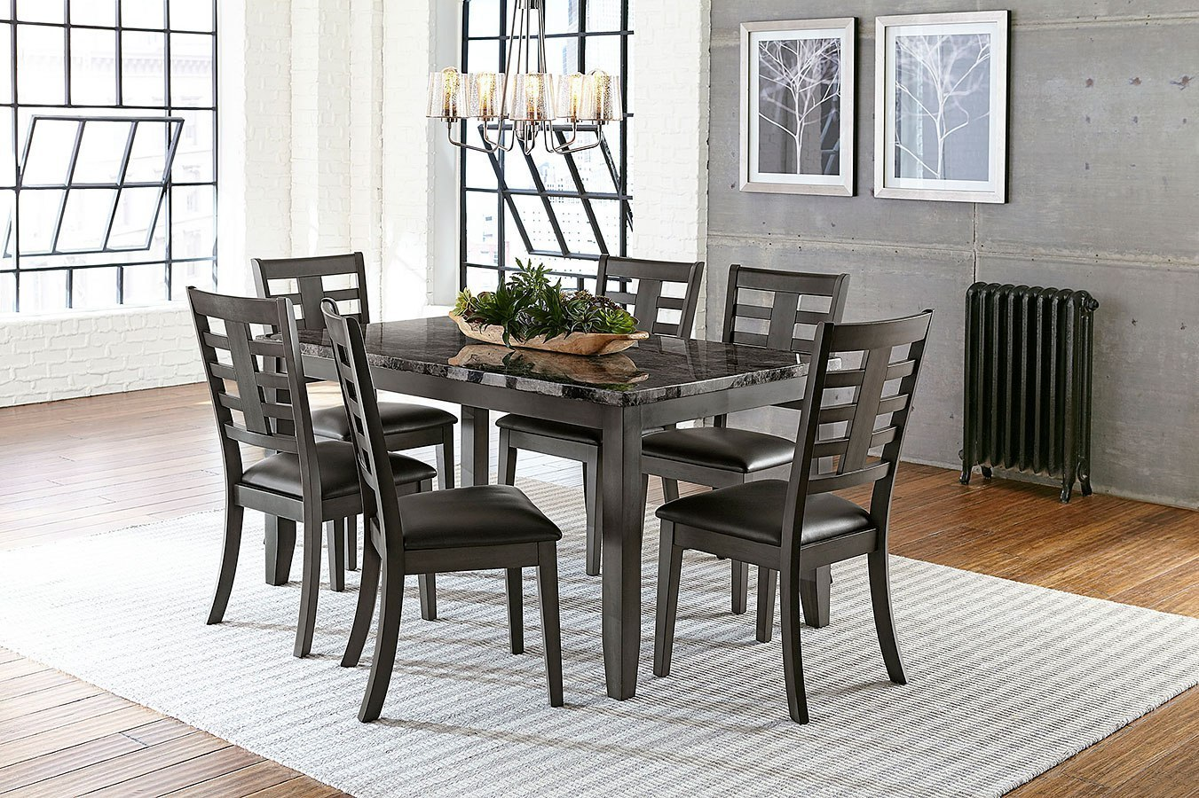 Charmant Canaan 7 Piece Dining Room Set