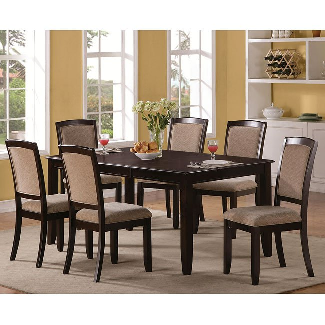 Memphis Furniture Company: Memphis Rectangular Dining Room Set Coaster Furniture