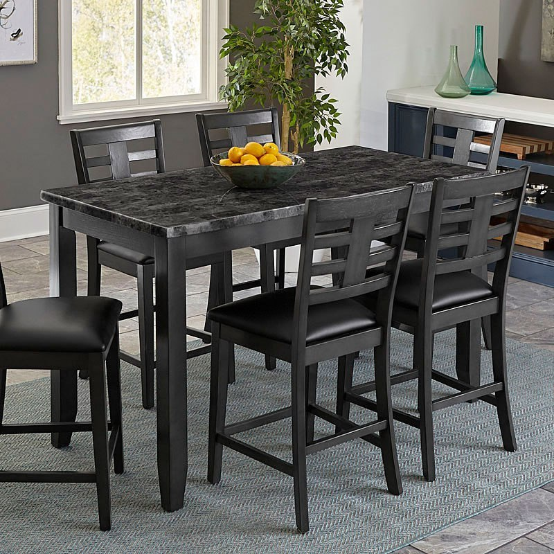 Standard Furniture Brooklyn 5 Piece Counter Height Dining: Canaan 5-Piece Counter Height Dining Set Standard