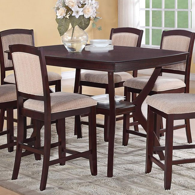 Memphis Furniture Company: Memphis Counter Height Table Coaster Furniture