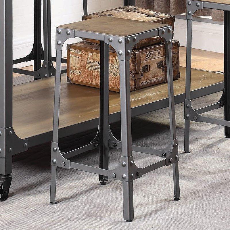 Industrial Kitchen Furniture: Industrial Kitchen Island Set Coaster Furniture