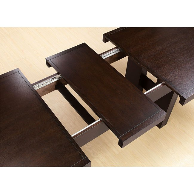 Dabny Cappuccino Dining Room Set Coaster Furniture 1