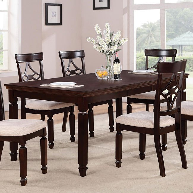 Dazzelton Dining Room Table: Maude Rectangular Dining Table Coaster Furniture