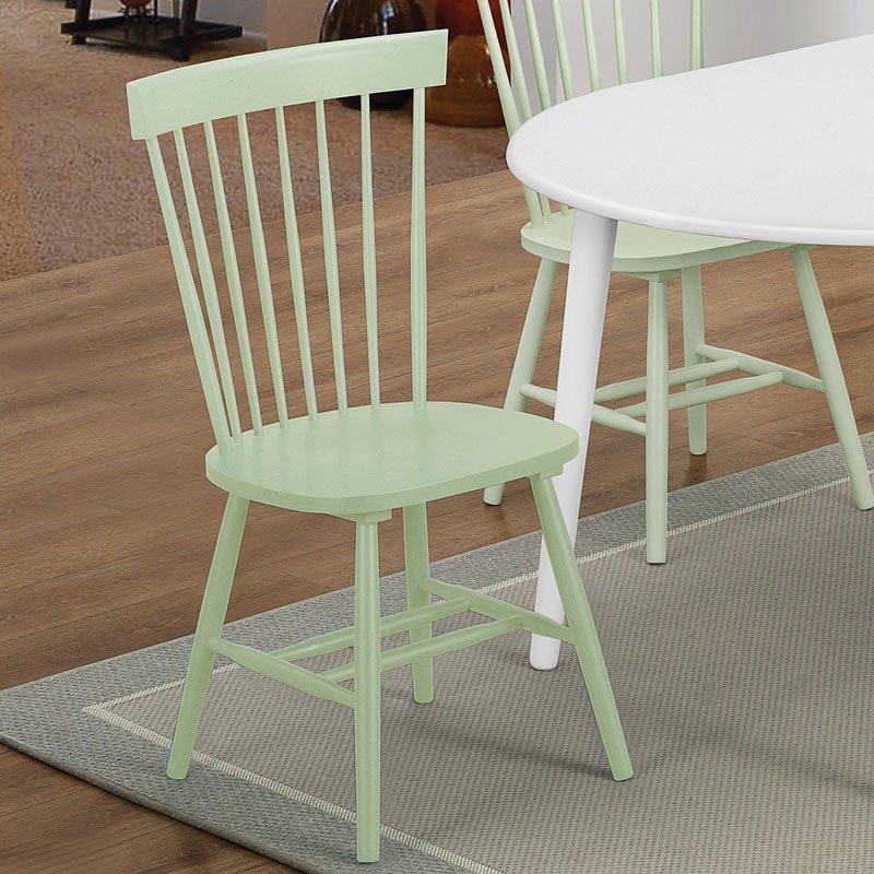 Emmett Side Chair (Mint Green) (Set Of 2) Coaster