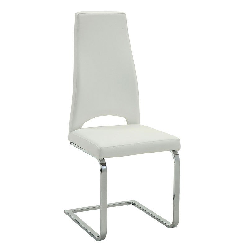 Augustin Breuer Side Chair (White) (Set Of 2)