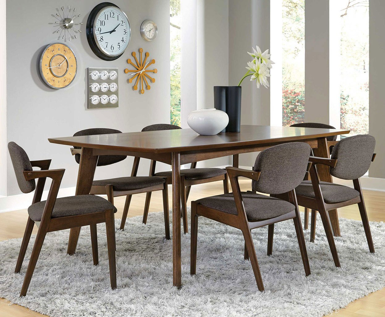 Remarkable Malone Rectangular Dining Room Set Interior Design Ideas Clesiryabchikinfo