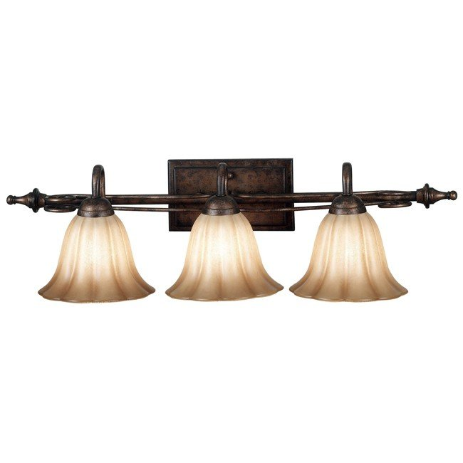 Wallis 3 Light Vanity (Burnished Bronze)