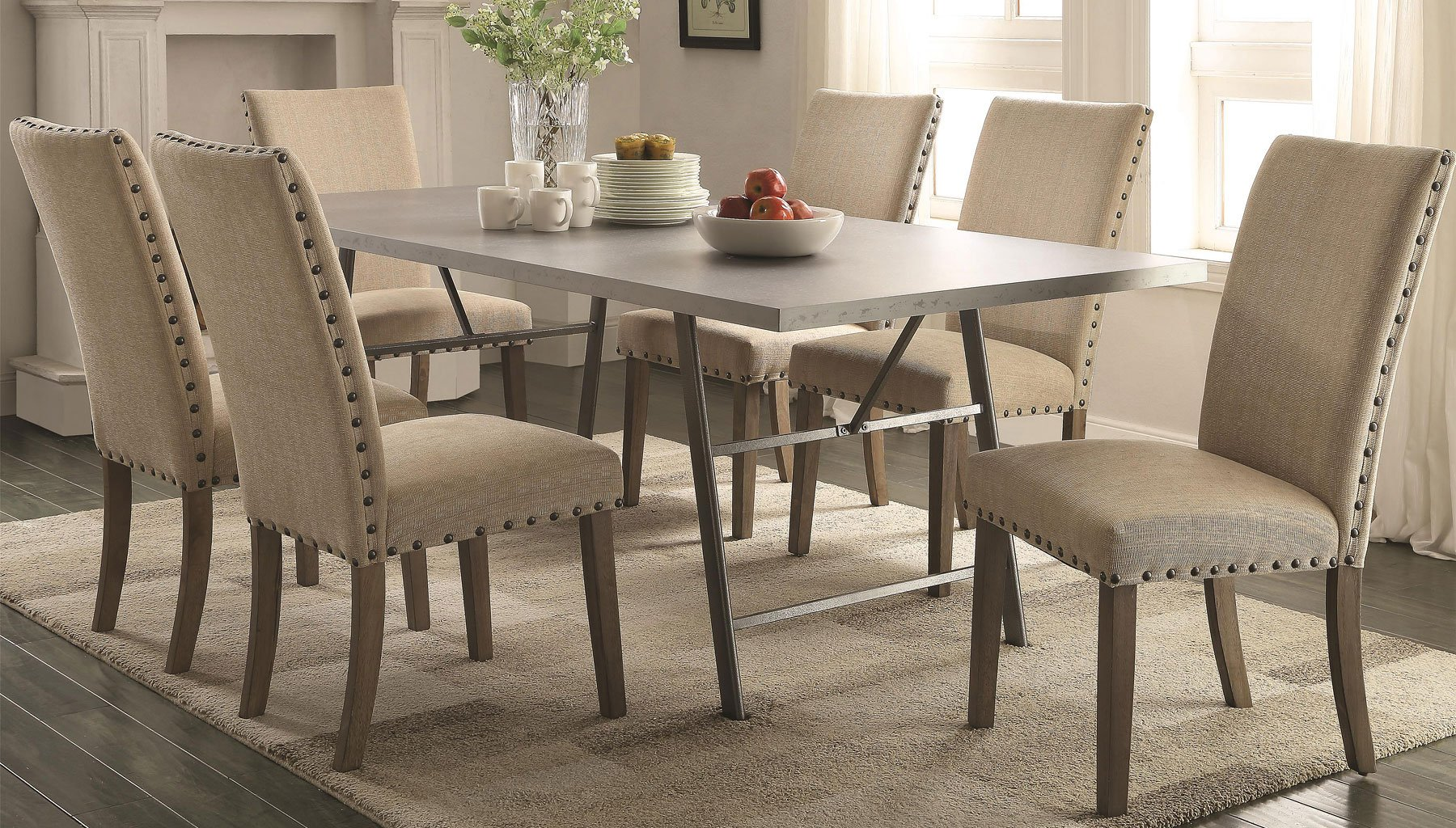 Sensational Amherst Dining Room Set W Chair Choices Home Interior And Landscaping Ologienasavecom