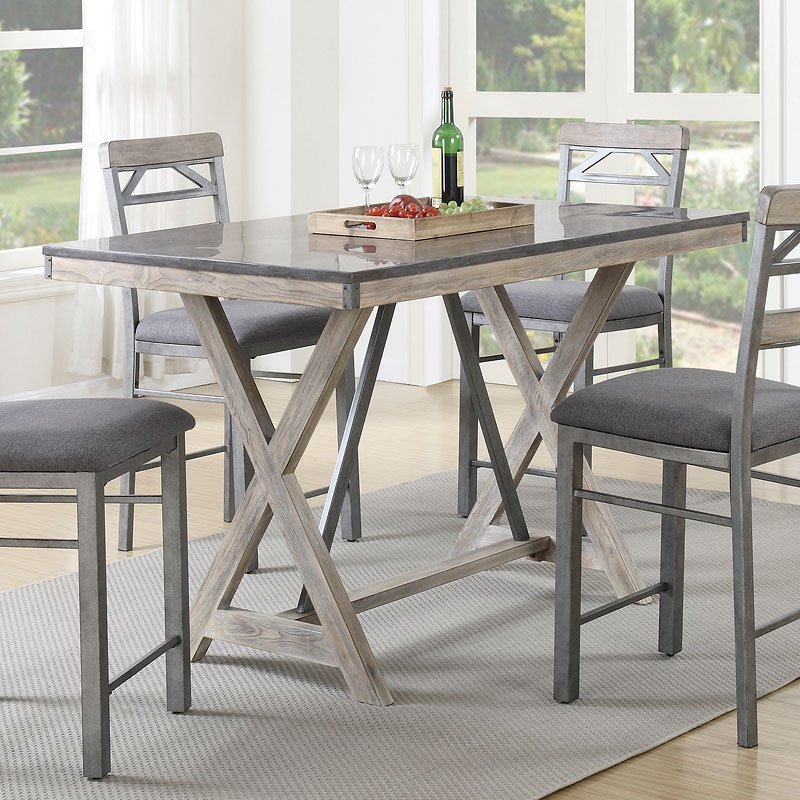 Melbourne Counter Height Table Coaster Furniture