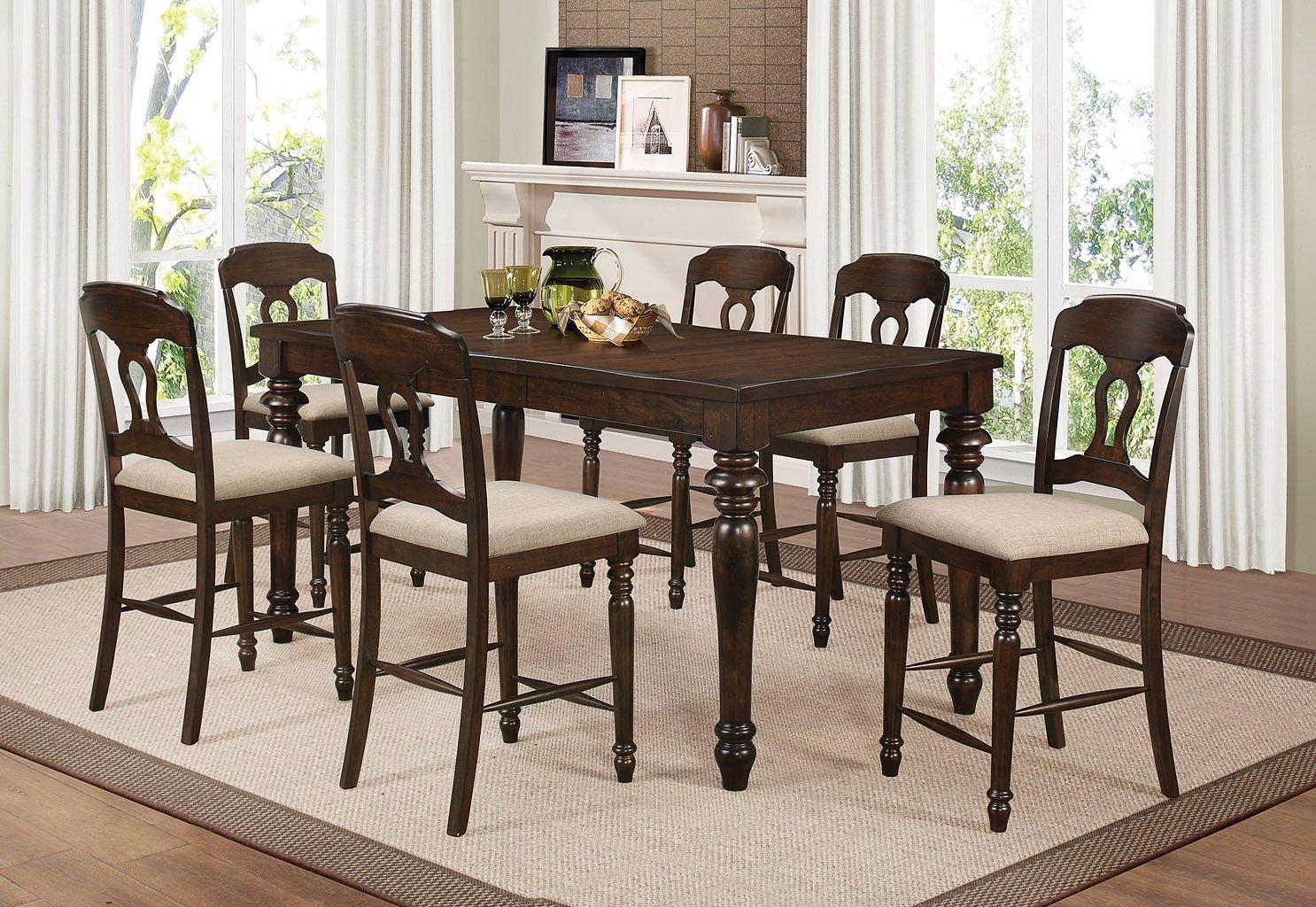 Hamilton Counter Height Dining Room Set Coaster Furniture