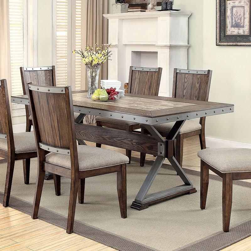 Beckett Dining Room Set W/ Bench Coaster Furniture   Furniture Cart