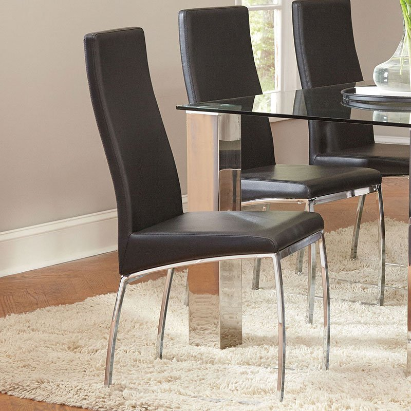Bellini Side Chair Set Of 2 Coaster Furniture Furniture Cart