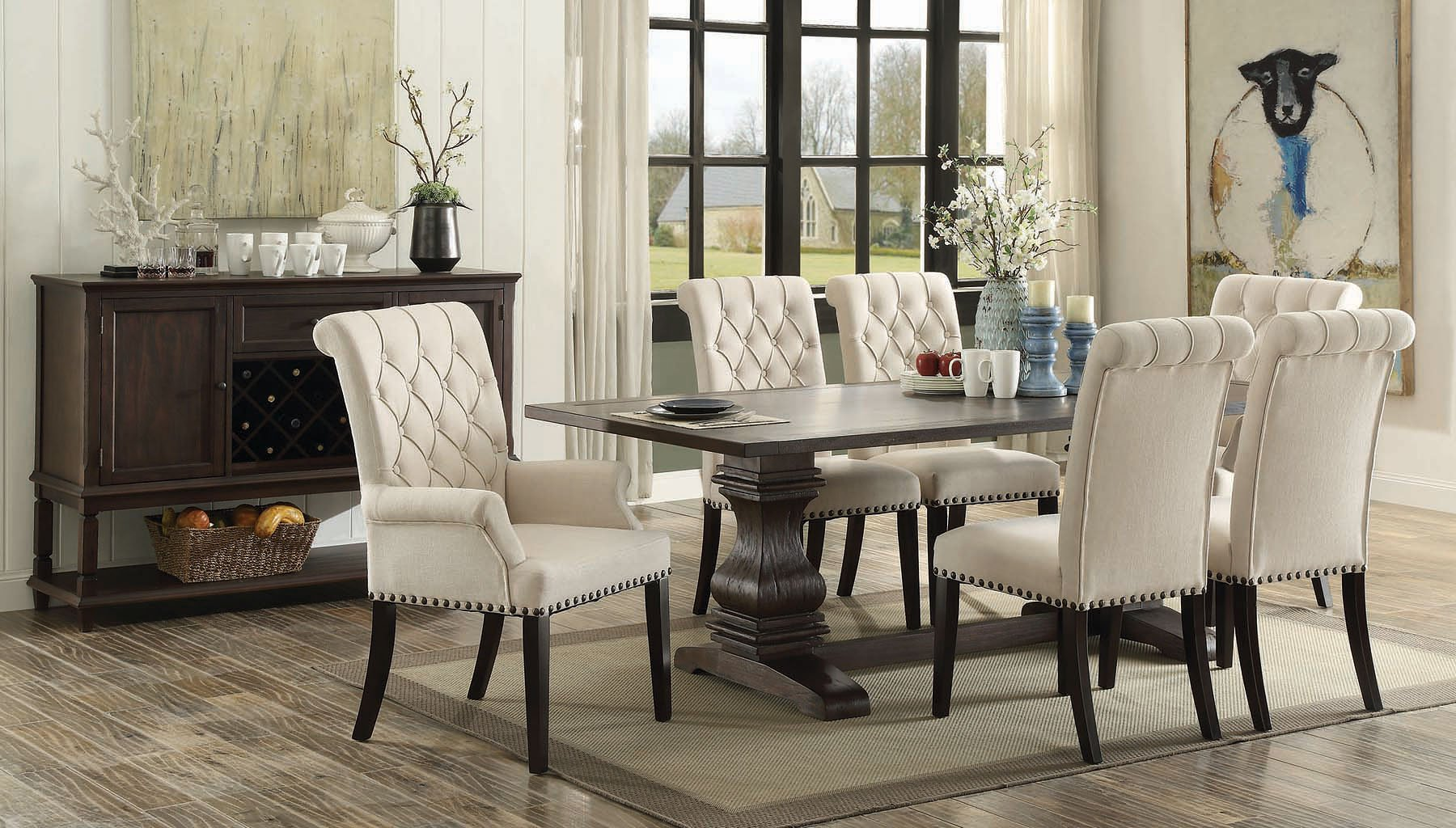Parkins Dining Room Set Coaster Furniture, 1 Reviews
