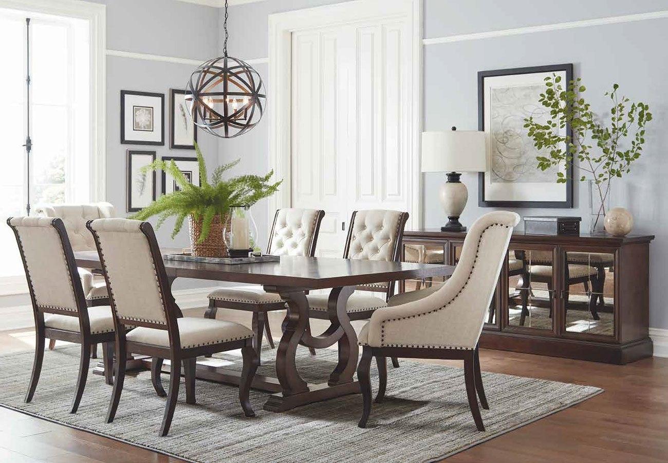 Superbe Glen Cove Dining Room Set (Antique Java)