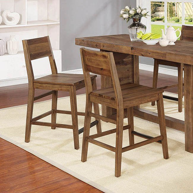 Tucson Counter Height Chair Set Of 2 Coaster Furniture