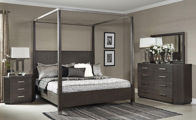 Chelsea Loft Canopy Bedroom Set