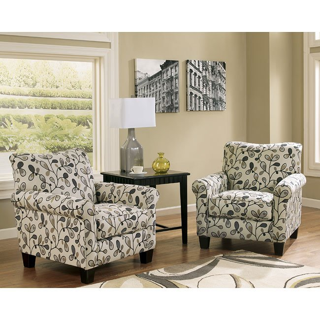 Gusti Dusk Accent Chair Signature Design, 1 Reviews
