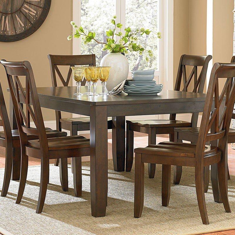 Standard Furniture Dining Room Sets: Vintage Dining Room Set (Brown) Standard Furniture