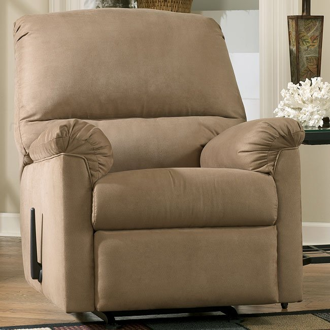 Graham - Mocha Rocker Recliner