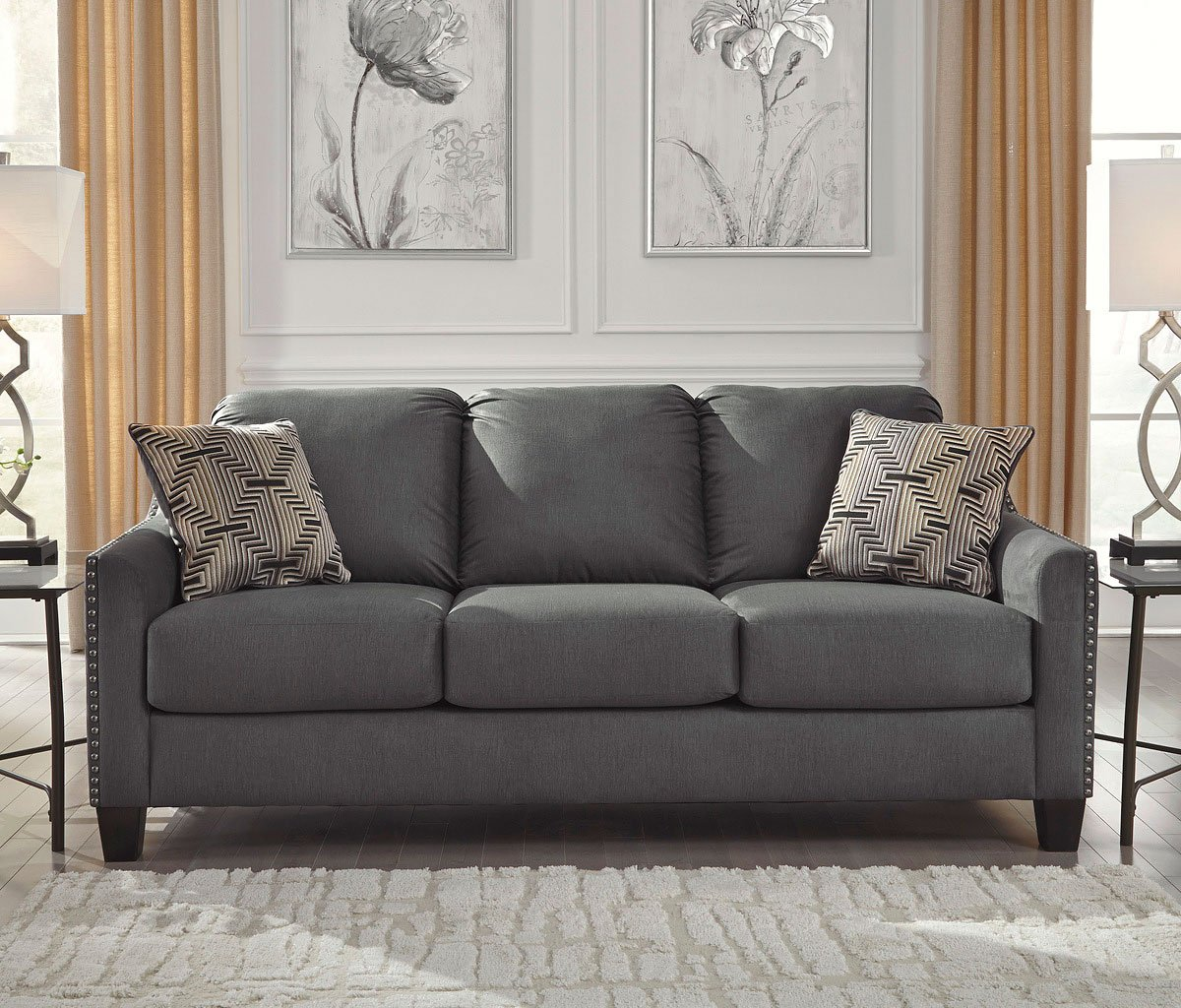 Exceptionnel Torcello Graphite Sofa