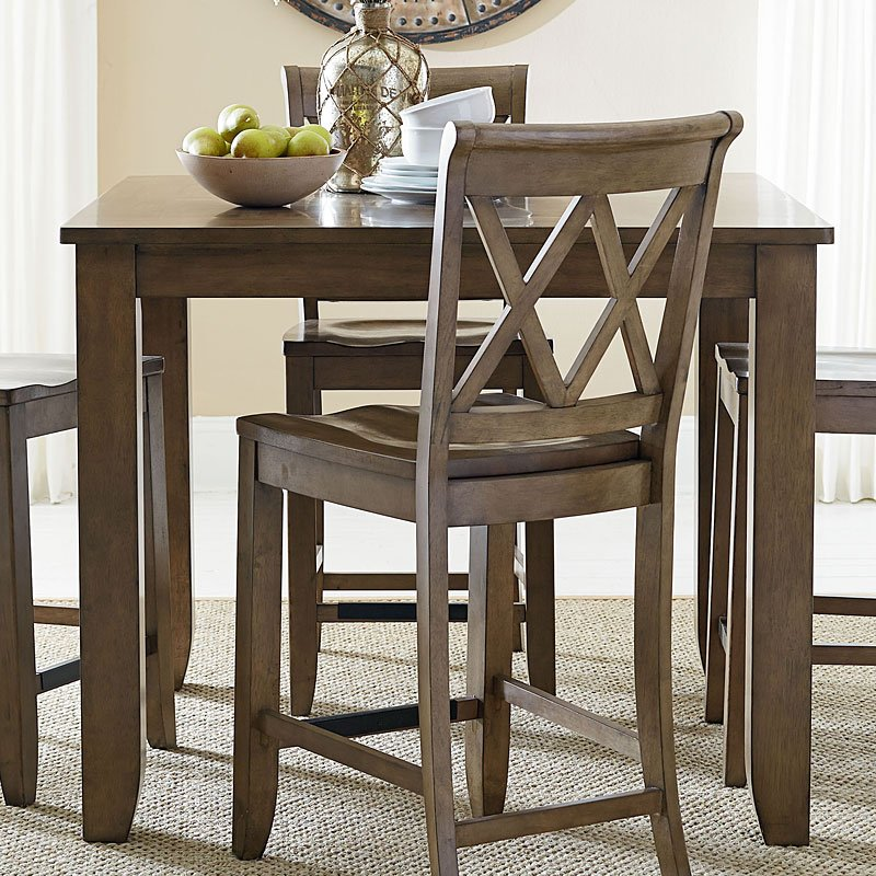 Standard Furniture Dining Room Sets: Vintage Counter Height Dining Room Set W/ Chair Choices