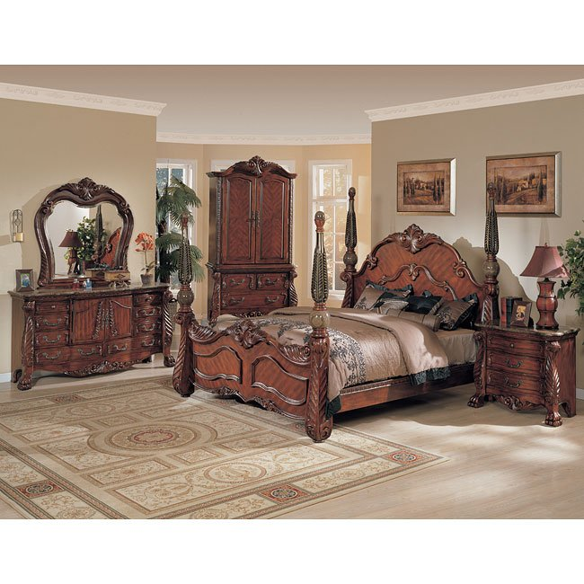 Luxury Poster Bedroom Sets Exterior