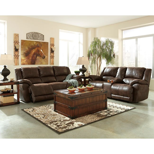 Garthay Sable Reclining Living Room Set w/ Power
