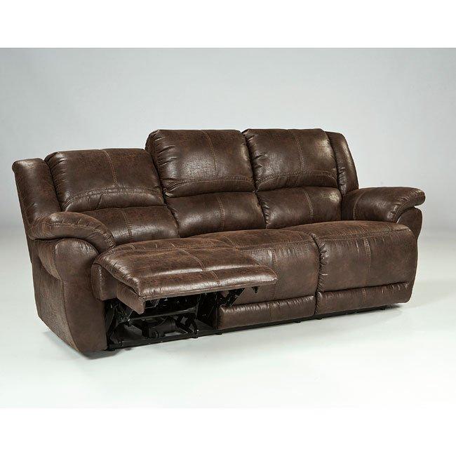 Garthay Sable Reclining Sofa w/ Power