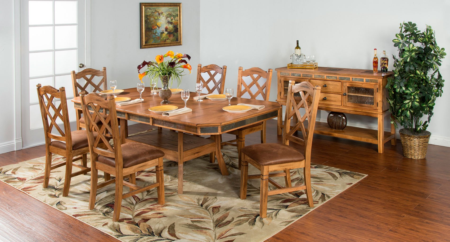 Sedona Adjustable Height Dining Room Set Sunny Designs