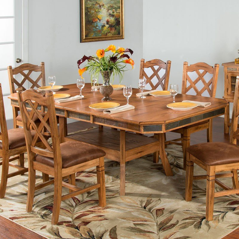 Sedona Adjustable Height Dining Table Sunny Designs
