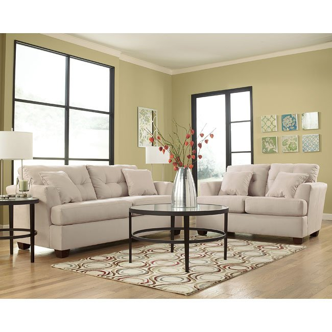 Miraculous Zia Stone Living Room Set Signature Design Furniture Cart Home Remodeling Inspirations Cosmcuboardxyz