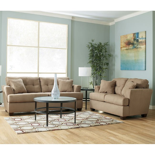 Zia - Mocha Living Room Set