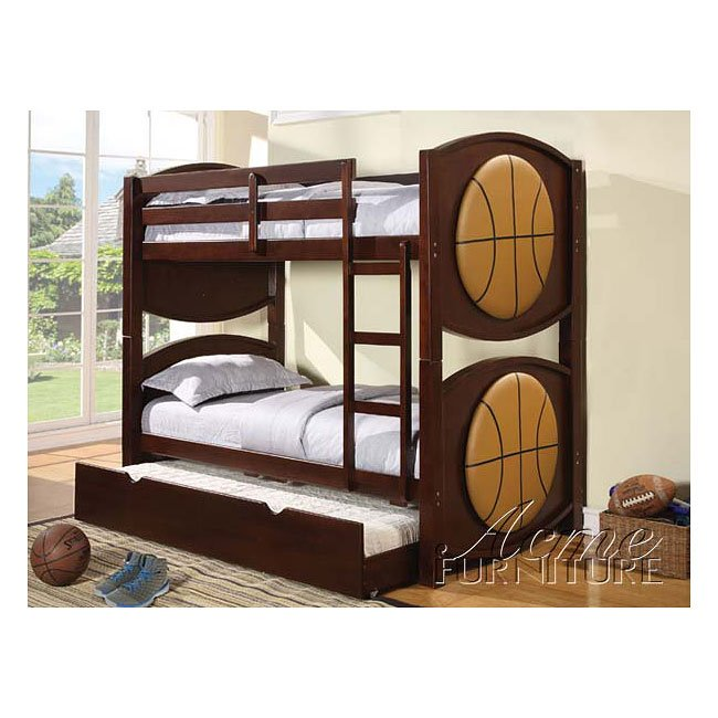 All Star Basketball Bunk Bed With Trundle Acme Furniture Furniture
