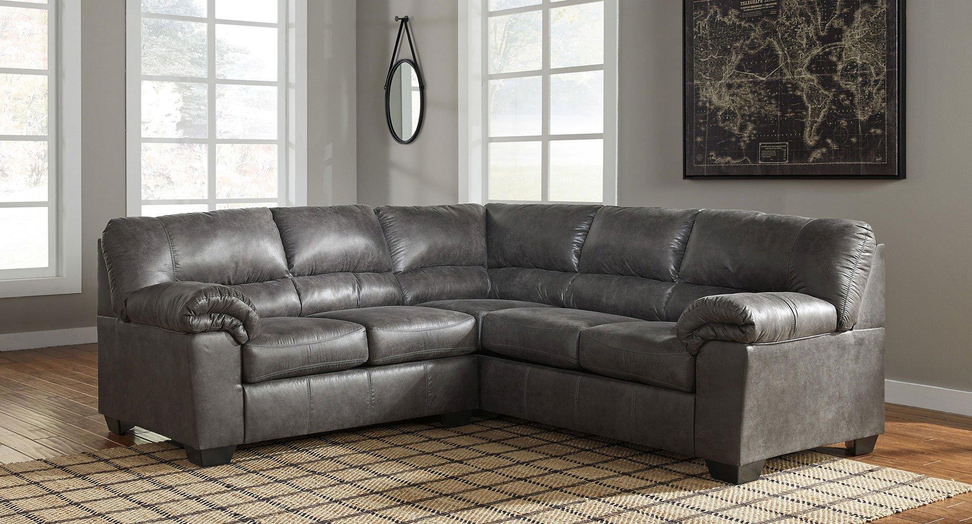 Bladen Slate Sectional Signature Design Furniture Cart