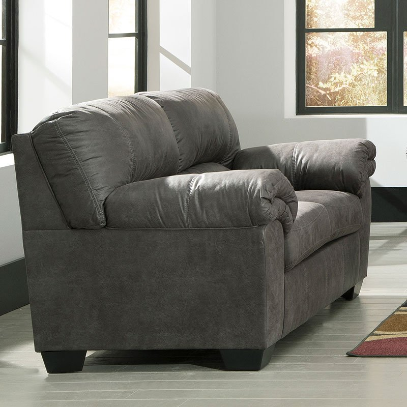 Bladen Slate Loveseat Signature Design Furniture Cart