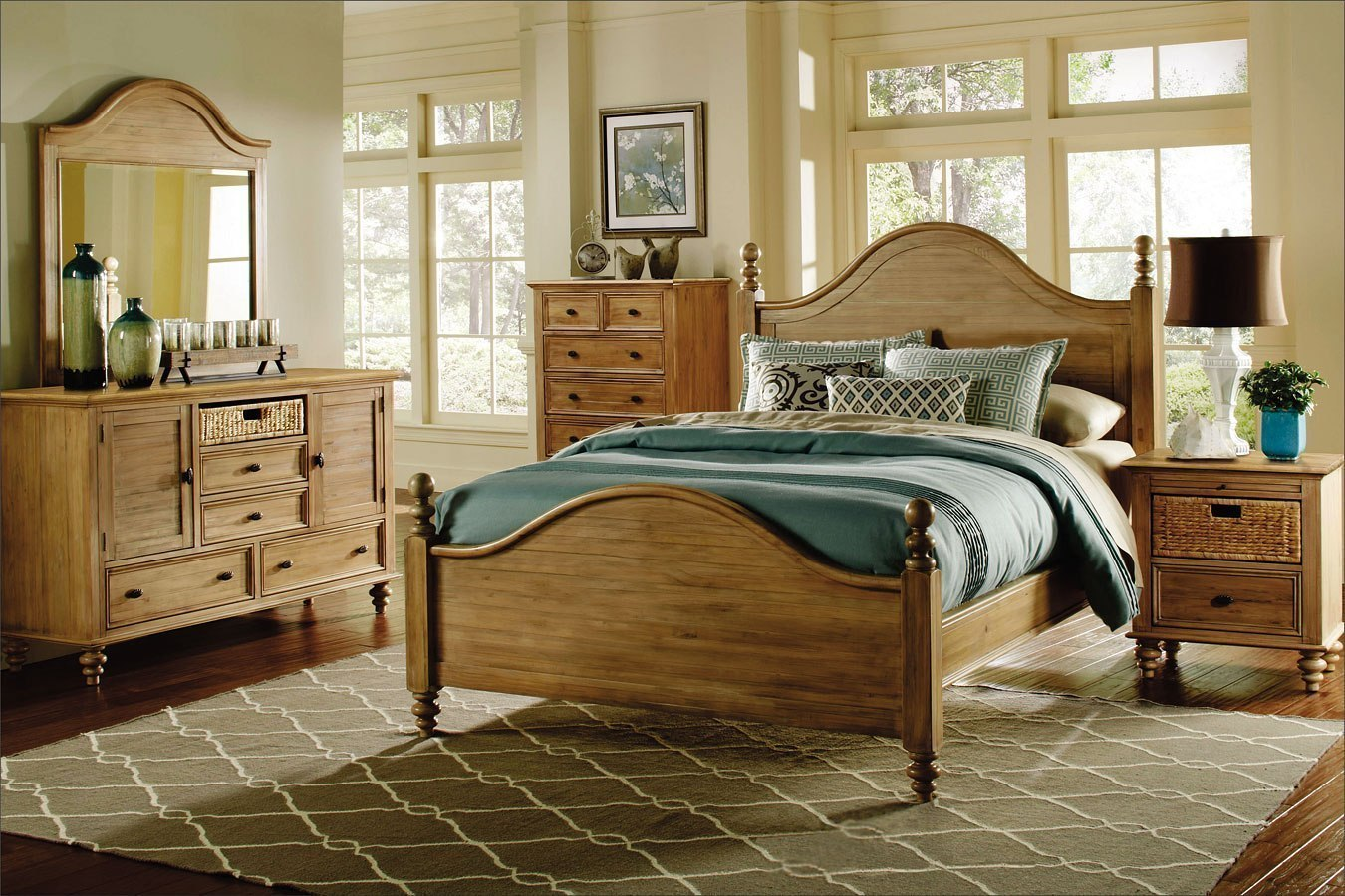Hampton Poster Bedroom Set Cottage Creek Furniture