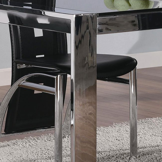 Broward Dining Table With Tinted Gl
