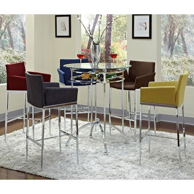 Ordinaire Modern Bar Table Set W/ Barstool Choices